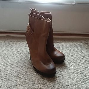 Jessica Simpson Callian leather boots. Sz. 8